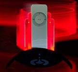 DecoDock Lava edition per iPod shuffle