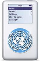 La dichiarazione Universale dei diritti Umani sull'iPod