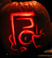 iPod-o-Lantern, uno sfondo di scrivania per Halloween
