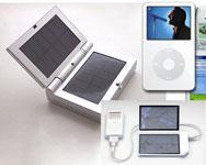 Carica batterie solare per iPod