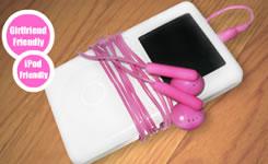 Auricolari colorati per iPod