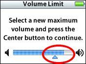 Come impostare il volume massimo sull'iPod