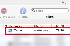 iTunes 7 – Amico della tua CPU!