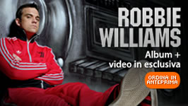Nuovo album per Robbie Williams – Rudebox –