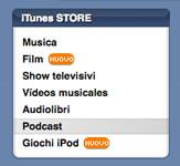 Segnali di video su iTunes Store