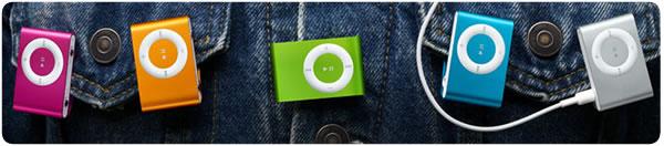 iPod shuffle, disponibile anche a colori