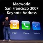 Disponibile il podcast della presentazione dell'iPhone