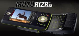 Ecco il primo concorrente dell'iPhone, il MotoRIZR Z8