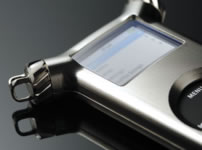 Custodia in titanio per l'iPod nano