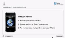 L'iPhone sarà attivato attraverso iTunes