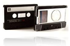 Non riuscite a staccarvi dalla cassettina? Metteteci l'iPod dentro allora!!