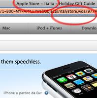 iPhone in Italia per Natale?!? [aggiornato]