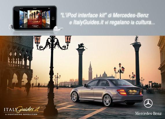 newsletter [i]PodMania.it – Audioguide d'Italia da Mercedes-Benz e ItalyGuides