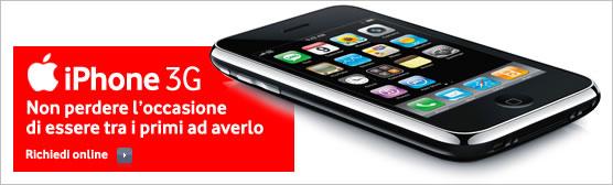 Vodafone inizia a prenotare gli iPhone