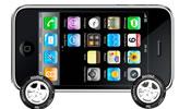In viaggio con l'iPhone verso Riccione