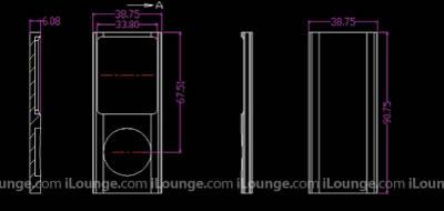 Ecco il disegno dei nuovi iPod nano e del nuovo iPod touch