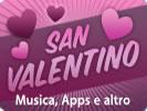 San Valentino, musica ed applicazioni