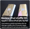 Senti come parla (male) il nuovo iPod shuffle