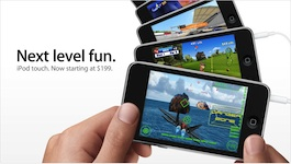 Nuovo iPod touch con Open GL ES 2.0