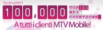 Mtv Mobile offre 100.000 download a tutti i suoi clienti
