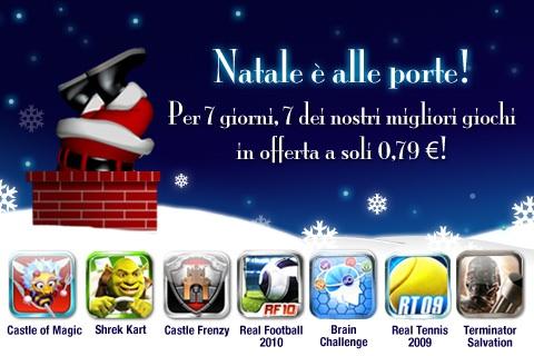 Offerta di Natale per Gameloft – 7 software a soli 0,79 Euro l'uno