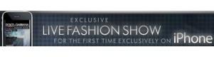 Le sfilate di Dolce & Gabbana in diretta su iPhone