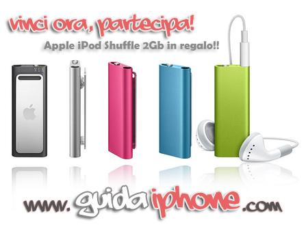 Concorso Guida iPhone – La conoscenza ti fa vincere un iPod Shuffle