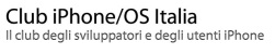 """Club iPhone – La prima associazione libera di utenti """"evoluti"""" di iPhone"""