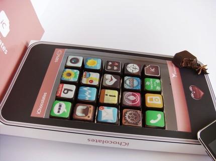 iChocolates – Quando il pasticcere è ossessionato da iPhone
