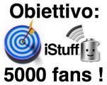 Concorso – iStuff quasi a quota 5000 fans su Facebook: iscriviti e vinci uno Shuffle!