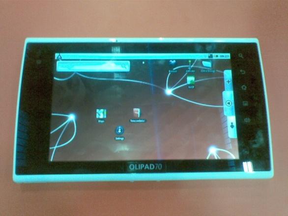 Aggiornamento – Le prime foto di OLIPAD, il tablet di Olivetti e Telecom Italia per gli ebook