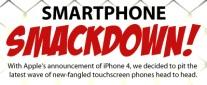 iPhone & la concorrenza – Analisi delle caratteristiche tecniche [infografica]
