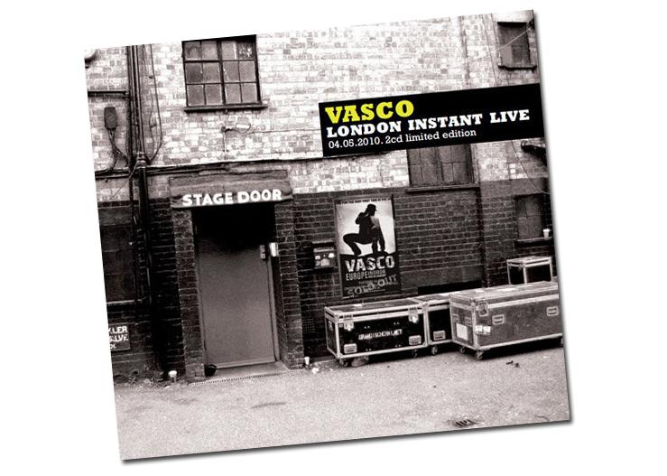 Esce Vasco London Instant Live – Doppio CD della performance del Blasco nella Terra di Albione