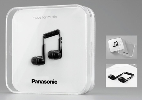 Nuovi auricolari Panasonic – Un packaging degno di Apple!