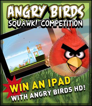 Contest Angry Birds – Crea un nuovo personaggio e vinci un iPad!