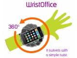 WristOffice – Utilizzare l'iPhone è questione di polso!