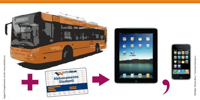 Concorso Adriabus – Suona la campanella e vinci iPad ed iPhone
