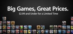 Nuova vetrina dedicata alle apps/giochi in offerta
