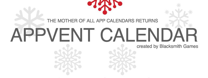 Ritorna Appvent Calendar – 24 giorni di regali su AppStore e premi marchiati Apple