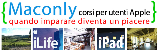 Corsi iPad ed iLife nel mese di novembre a Roma e Cetona