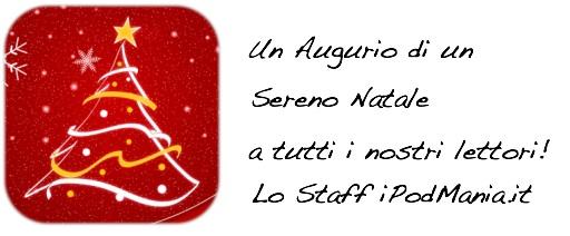 Buon Natale dalla redazione di iPodMania.it