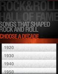 Rock & Roll Hall of Fame per iPhone e iPad