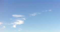 Il cielo è sempre più blu