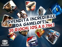 Giochi Gameloft scontati a 0.79 €