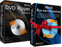 Vinci 6 codici per WinX DVD Ripper Platinum  per Win e Mac con iPodMania.it