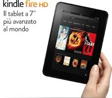 Amazon presenta il Kindle HD
